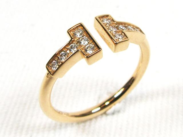 T Wire Diamond Ring 18K黃金鑲鑽戒指