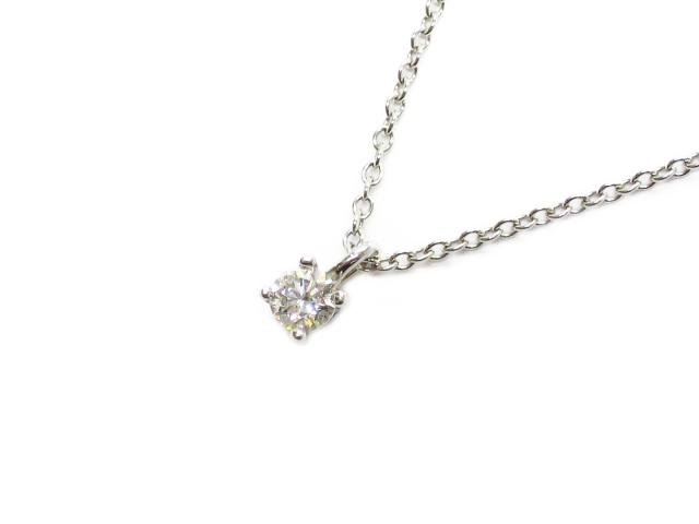 Solitaire Diamond Necklace 鑽石項鍊
