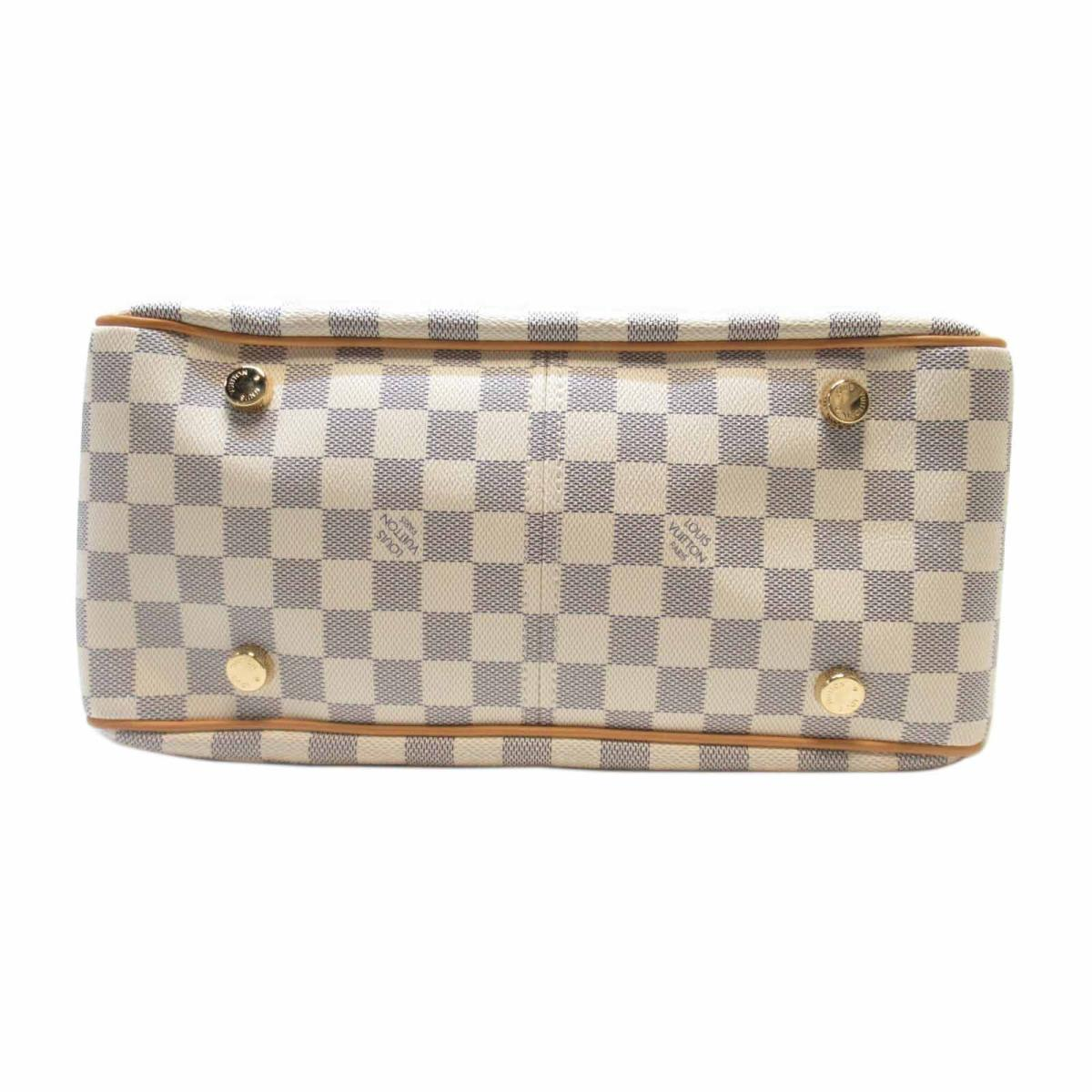 LOUIS VUITTON LV 路易威登 LOUIS VUITTON LV 路易威登 バッグ N41176 白棋盤格肩背包 Figheri PM N41176