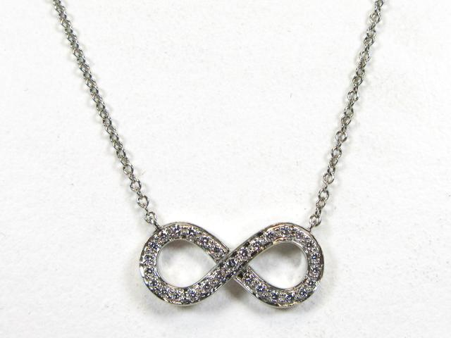 Infinity Diamond Necklace 鑽石 項鍊