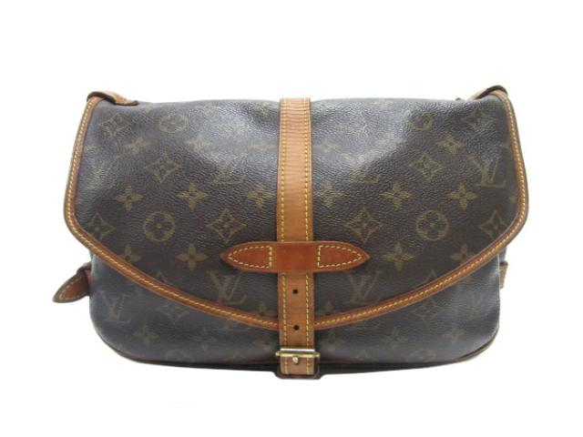 LOUIS VUITTON LOUIS VUITTON バッグ M42256 原花雙馬鞍包 斜背包 SAUMUR 30 M42256