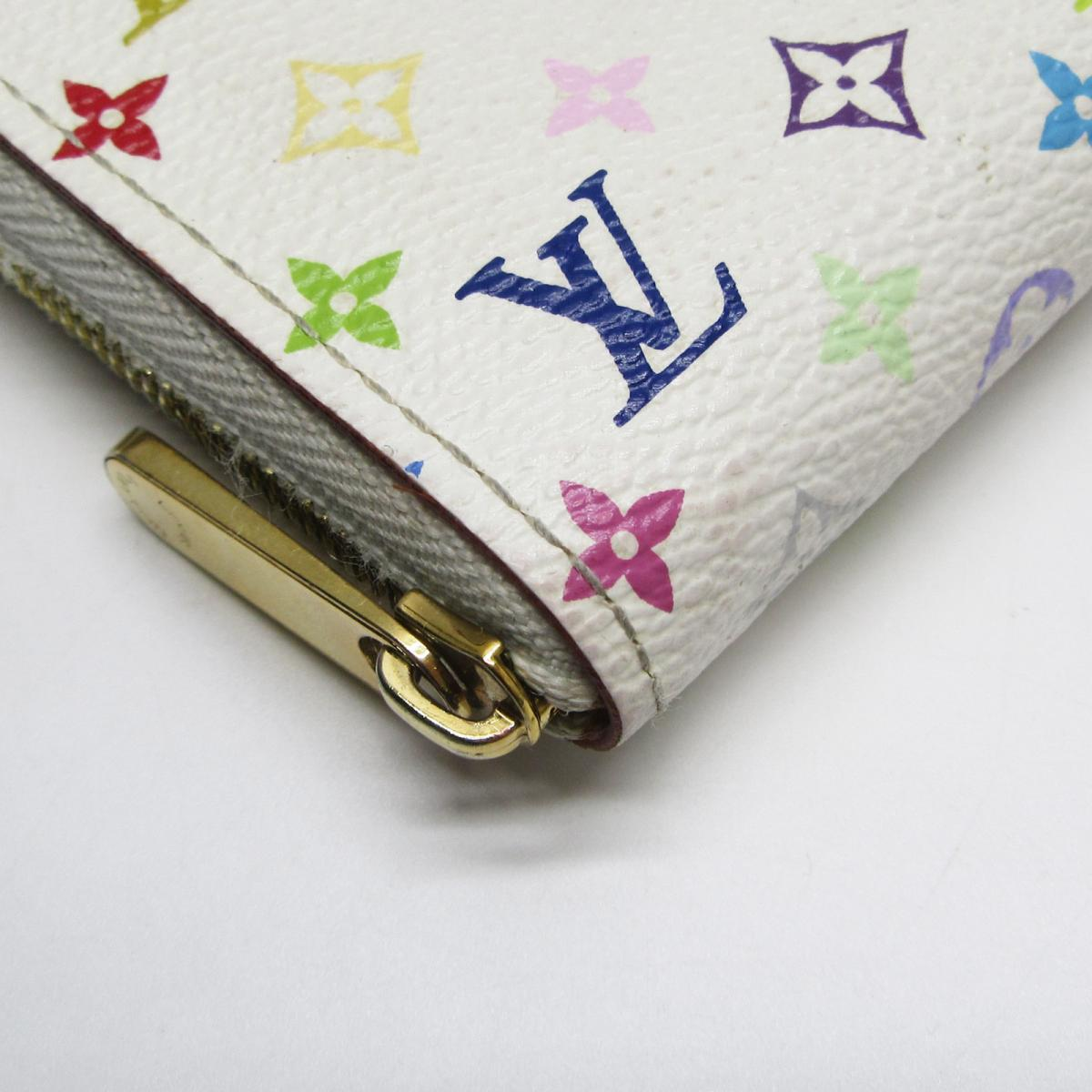 LOUIS VUITTON LV 路易威登 LOUIS VUITTON LV 路易威登 サイフ・小物 M93741 村上隆白彩拉鍊ㄇ型零錢包 Zippy Coin Purse M93741