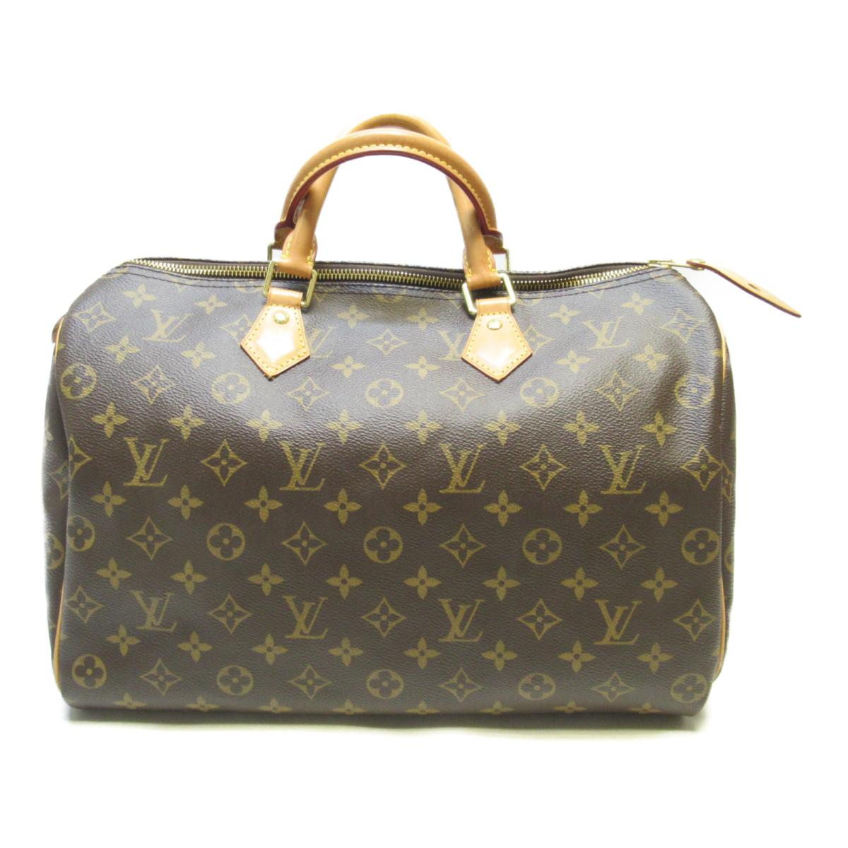 LOUIS VUITTON LV 路易威登 LOUIS VUITTON LV 路易威登 バッグ M41107 原花手提波士頓包 Speedy 35 M41107